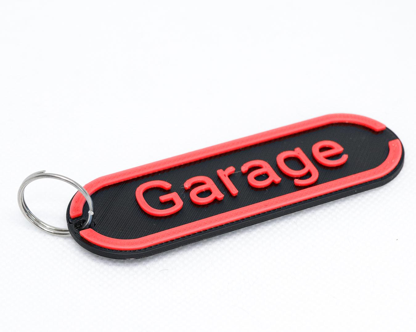 Sittertaler Schlüsselanhänger, individuell beschreibbar, rot