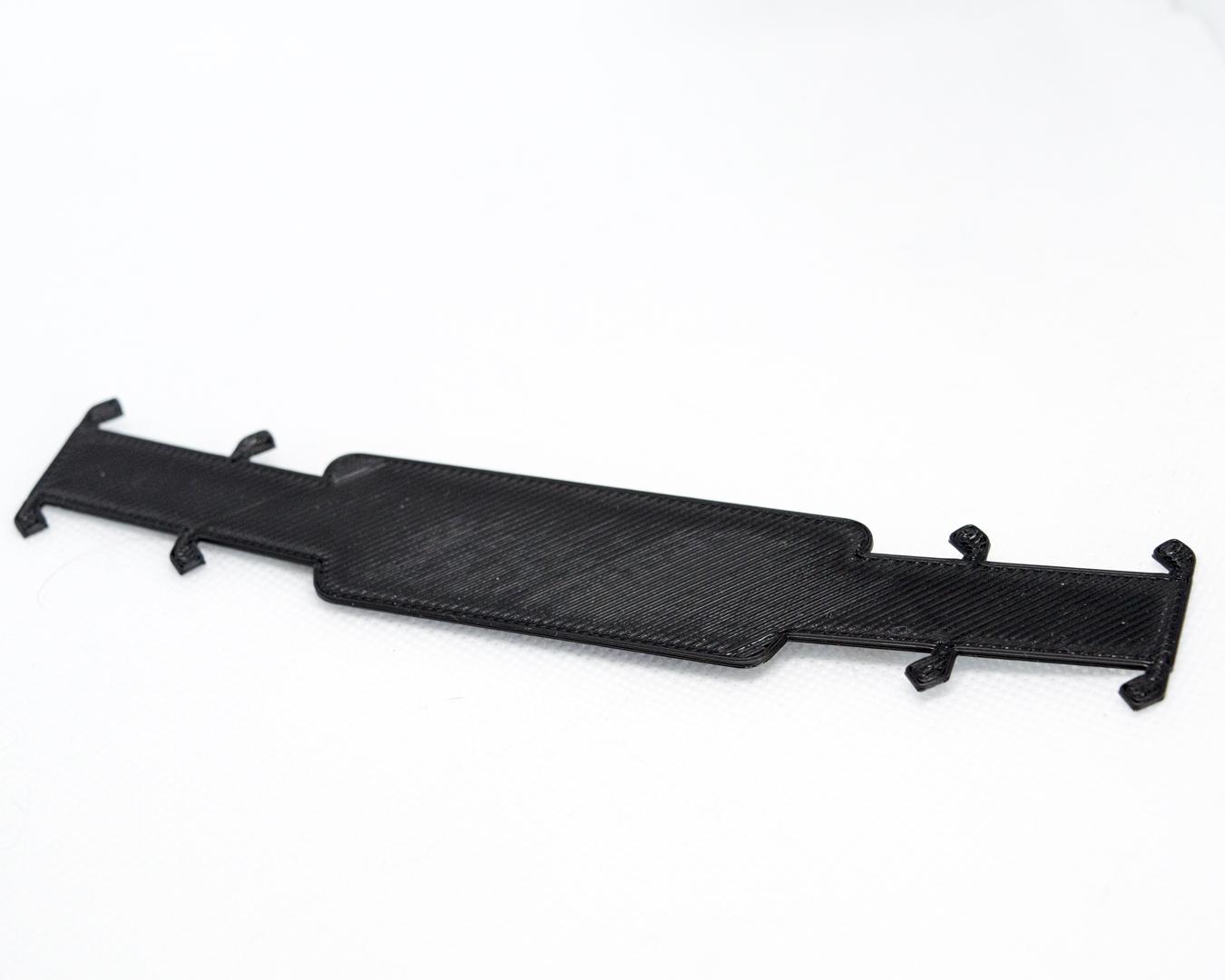 Sittertaler Mask Straps, einfarbig ohne Aufschrift, schwarz