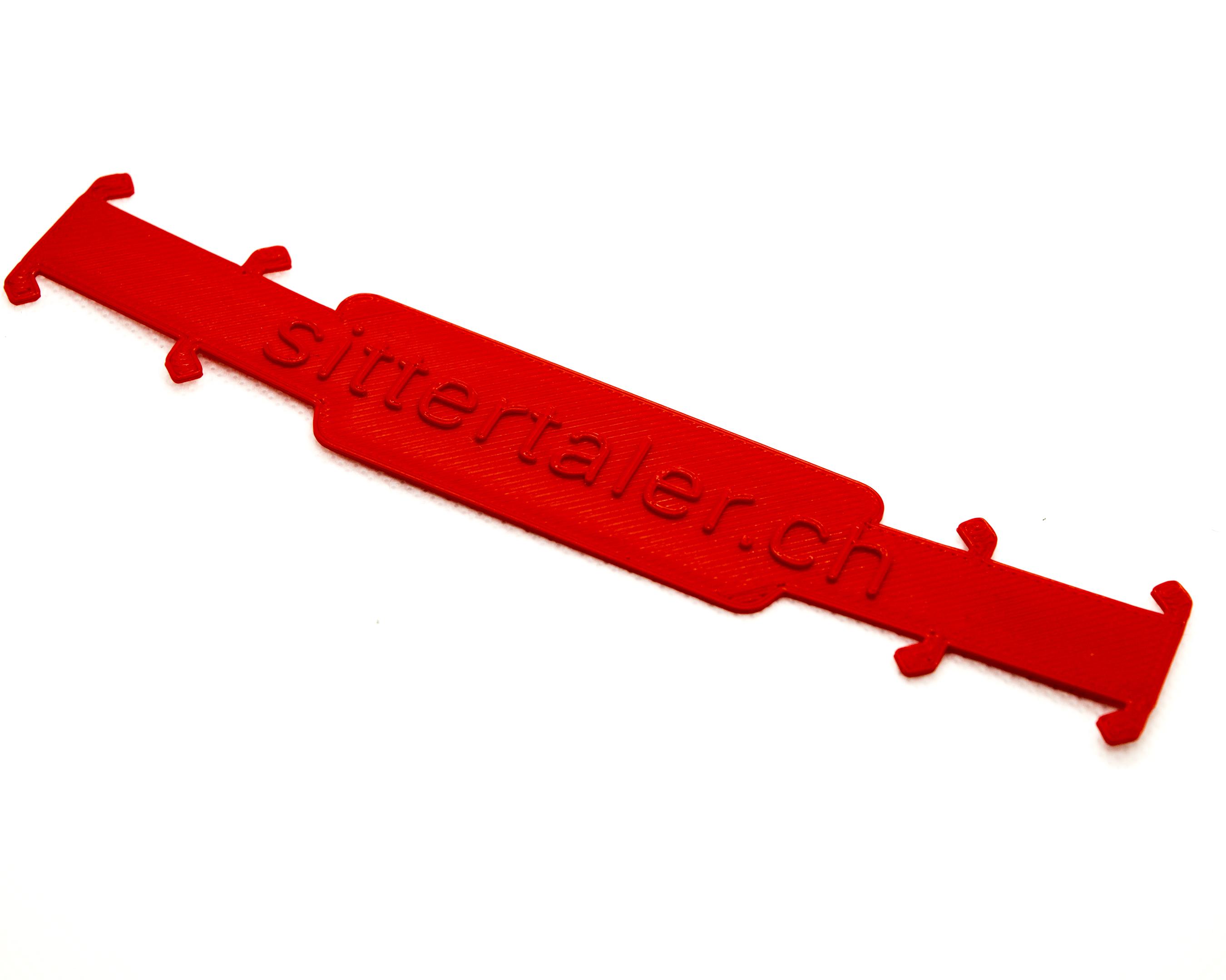 Sittertaler Mask Straps, einfarbig, Rot