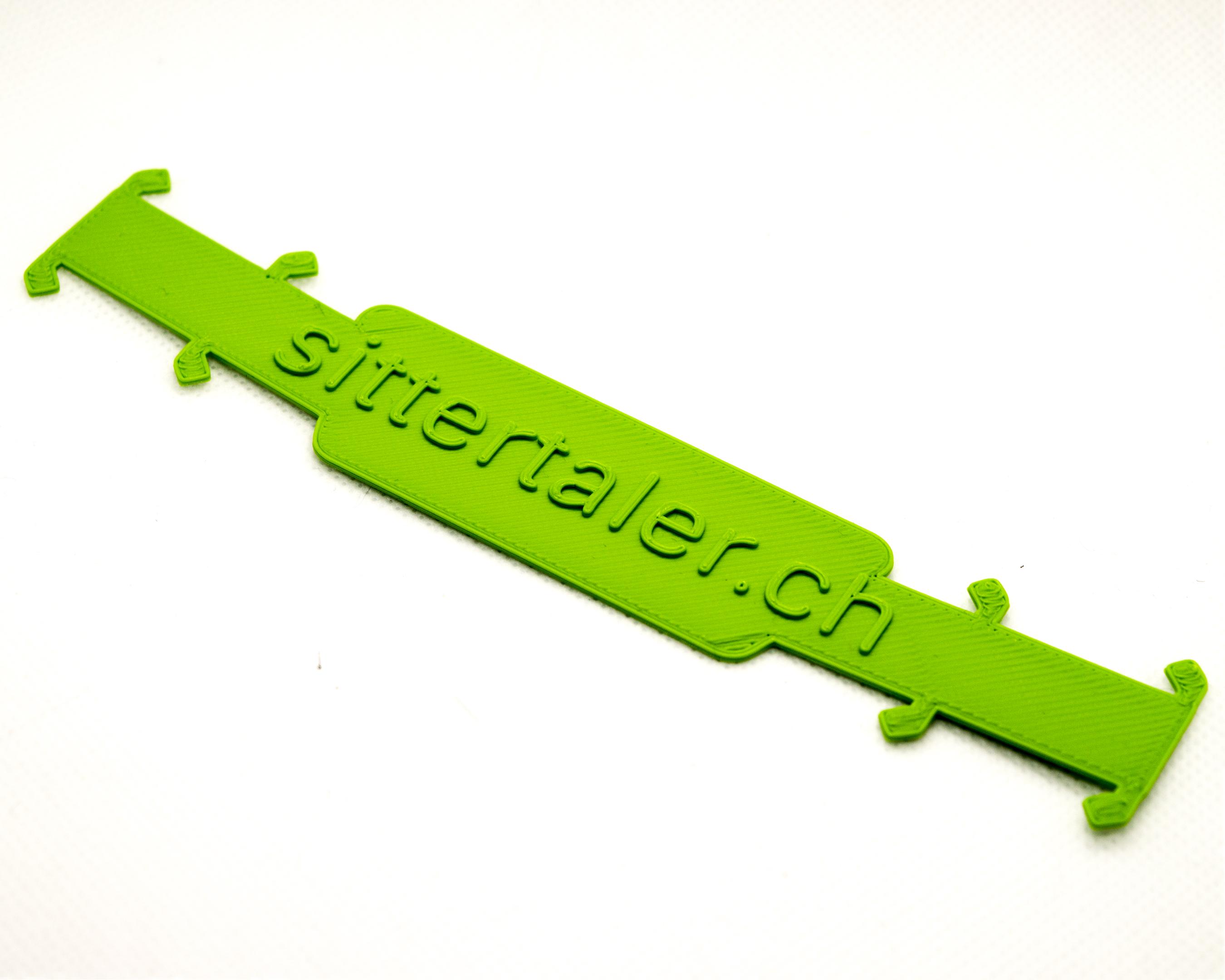 Sittertaler Mask Straps, einfarbig, Grün