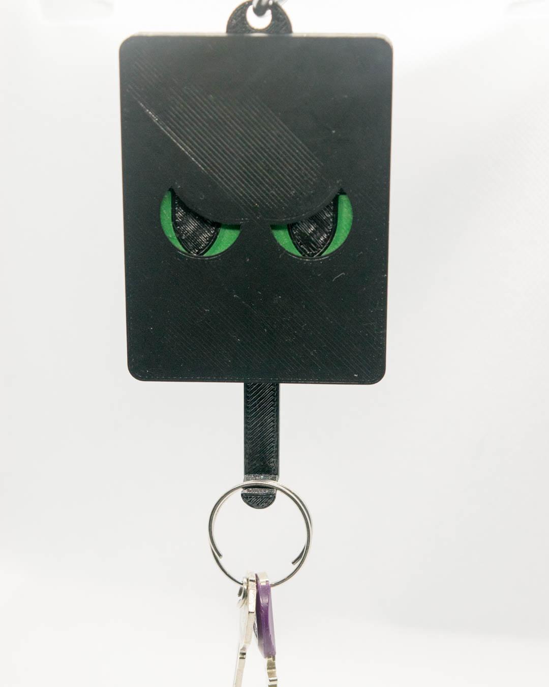 Schlüsselbrett, Keyguard, Moosgrüne Augen, Böse