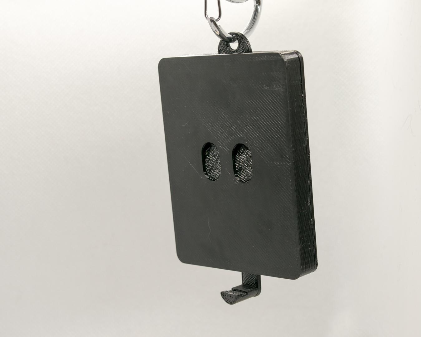 Schlüsselbrett, Keyguard, Augen geschlossen