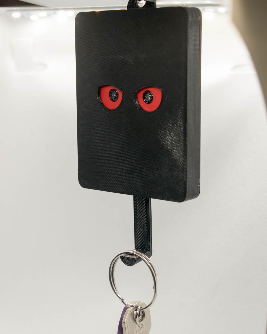 Schlüsselbrett, Keyguard, rote Eulenaugen