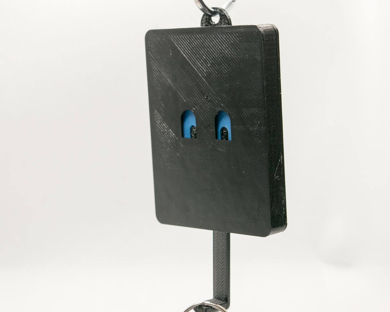 Schlüsselbrett, Keyguard, türkise Augen