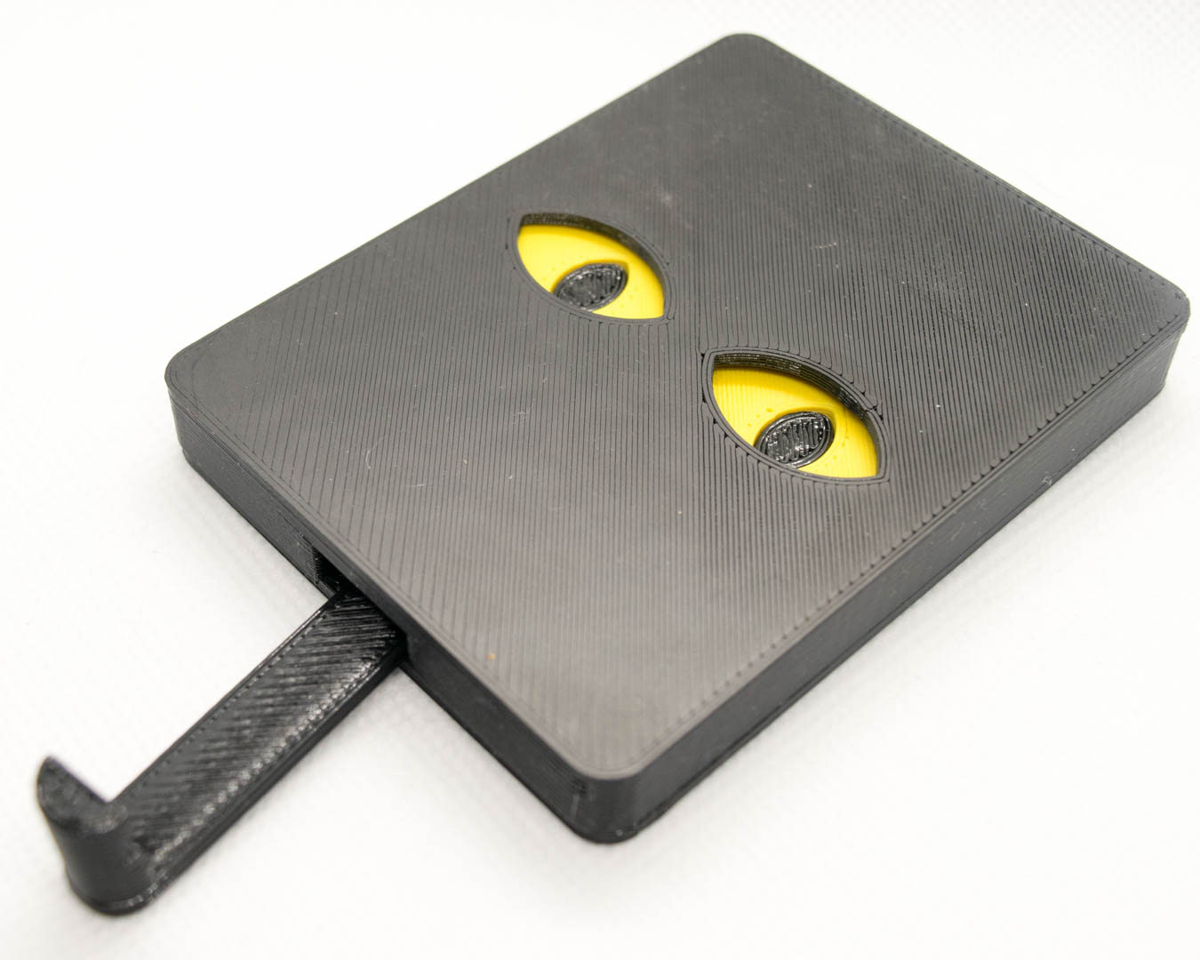 Schlüsselbrett, Keyguard, Gelbe Katzenaugen